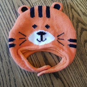 Jumping Beans Tiger Winter Hat size 0-6 Months